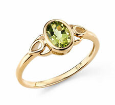 Peridot Cocktail Natural Stone Fine Rings