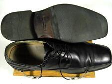 FLORSHIEM MENS CURTIS BIKE TOE LACE UP (14068) SIZE 13 BLACK DRESS SHOES     015