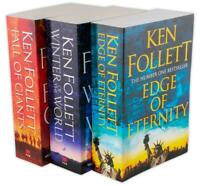 Ken Follett Century Trilogy Series Collection 3 Books Giants, Eternity, World