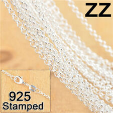 """10X Silver Pearl Necklace Cross Chain  Making Jewelry Findings For Pendant 18"""""""