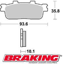 BRAKING PASTIGLIE POSTERIORI KYMCO PEOPLE GTI 125 2010-2014 BRAKE PADS REAR