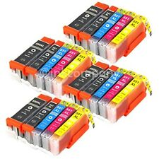20 XL PATRONEN mit CHIP für CANON PIXMA IP7250 MG5450 MG5550 MG6450 MX725 MX925
