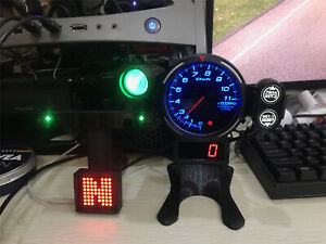 RPM Tachometer PC GAME Simulated Racing Game Meter Logitech G29 THRUSTMASTER 12V