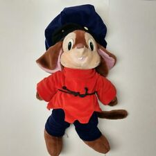 """New listing vtg Fievel An American Tail huge 22"""" plush stuffed mouse Caltoy Sears 80's toy"""
