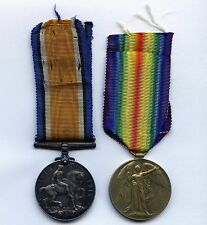 WW1 Britain 1914-18 & Victory Medals (645840 L/CPL:N.L.BUTCHER 18th BN CAN INF)