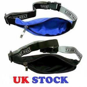 Sports Running Jogging Gym Waist Strap Case Holder Zip Lock Bag For Mobile Phone
