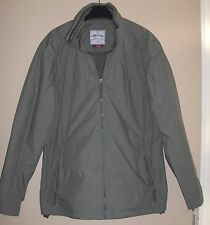 BNWOT Unisex Fleece Lined Jacket/Coat - Green - Size small -would fit size 12/14