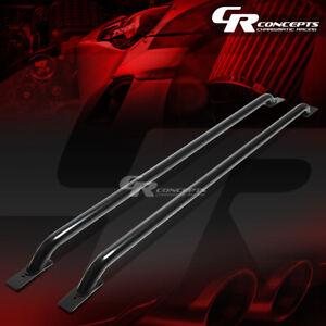 """65"""" BLACK TRUCK SIDE RAIL BAR FOR 07-13 SILVERADO/SIERRA 1500 2500 3500 78"""" BED"""