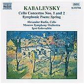 Kabalevsky: Cello Concertos Nos. 1 and 2; Symphonic Poem Spring. Moscow SO