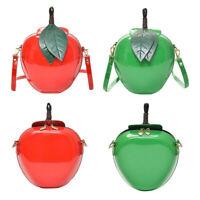 Womens Fashion Apple Handbag Zipper Bag Shoulder Bag Tote Ladies Messenger Bag ,