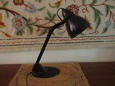 Vintage Authentic Jacobus J. Pieter Oud Black Bauhaus Architects Desk Lamp