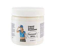 4 Ounce Fluorescent White Liquid Latex Body Paint by Liquid Latex Fashions