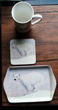 Snow Scene of Polar Bear By Creative Tops