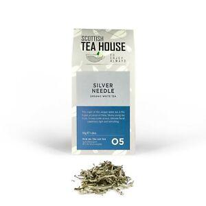 Silver Needle Organic Loose Leaf White Tea