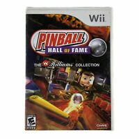 Pinball Hall of Fame: The Williams Collection (Nintendo Wii, 2008) w/Manual CIB