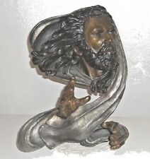 "MARK HOPKINS Bronze Sculpture Statue ""PEACE""  #101/550  16"" x 13"" x 10"""