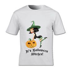It's Halloween Witches T-shirt Halloween Scary Spooky Ghost Pumpkin Witch haunt