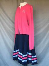 1950's Style Sock Hop Dress Sweater & Skirt Happy Days Bye Bye Birdie