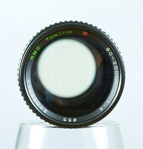Vintage Tokina 80-200mm f4 RMC Lens Nikon AI For Nikon 35mm Film Cameras Tested!