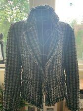 Patrick B Paris Vintage Boucle Style Jacket - Size 42 - Paris Couture