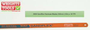 Bahco 3906 Sandflex Hacksaw Blades 300mm (12in) x 18tpi Pack 10 BAH39061810P