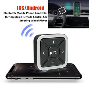 Car Auto Bluetooth Phone Controller Button Remote Control Steering Wheel Player