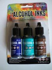 TIM HOLTZ Adirondack Alcohol Ink 3 Pk 'MARINER' BNIP **LOOK**