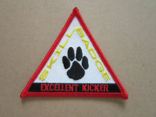 Skill Badge Excellent Kicker Woven Cloth Patch Badge