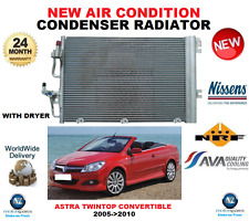 FOR VAUXHALL ASTRA TWINTOP AIR CON CONDENSER 2005->2010 1.6 1.8 CONVERTIBLE