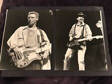 U2 In Concert Photos (2) 7x9 Vintage Press Concert Photos Los Angeles 1987