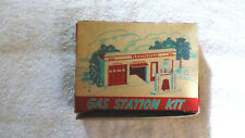 ORIGINAL PLASTICVILLE GO-2 GAS STATION IN ORIGINAL BOX, EX Condition