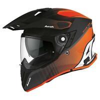 Black Matt XL Airoh Helios Helmet Hombre
