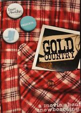 Gold Country Snowboard DVD Video Snowboarding Extreme Sports Movie