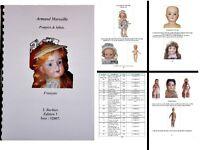 Livre de références sur les poupée ARMAND MARSEILLE en français