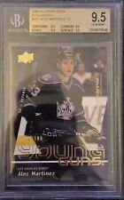 2009 2010 UPPER DECK Alec Martinez EXCLUSIVES YOUNG GUNS RC ROOKIE #/100