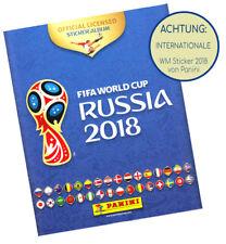 Panini WM 2018 Komlettersatz Leeresalbum INTERNAZIONAL mit 670 Bilder