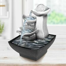 Resin Feng Shui Water Fountain Indoor Figurine Vintage Interior Home Decoration