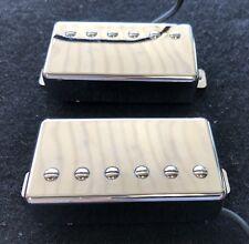 LPA210 Gibson Style PAF Humbucker Set (Neck & Bridge) Chrome