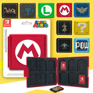 Game Card Case Holder Storage Box Carry Protector Cover For Nintendo Switch NS