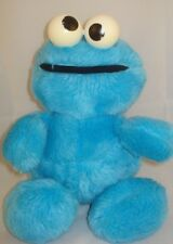 VTG Cookie Monster Plush Rattle Hasbro Sesame Street 10p17 toy Stuffed Animal