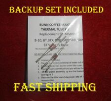 Repair Your Bunn Coffee Maker, Water Not Heating?Link Kit ***2 SETS** READ ADD!