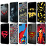Superman Batman Black Soft TPU Case for iPhone XS Max X 8 7 6 6S Plus 5S SE