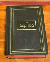 Antq. 1950 THE HOLY BIBLE  Douay/Confraternity New Catholic Version P. J. Kenedy