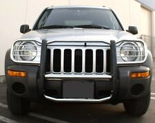 APU 2002-2004 Jeep Liberty Stainless Grille Grill Brush Bumper Guard Push Bar