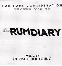 The Rum Diary-2011-Score-Original Soundtrack-Promo-CD