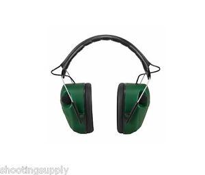 Caldwell E-MAX Electronic Earmuffs (NRR 25dB) Green NEW 497-700 497700