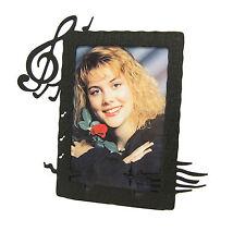 "Music Note Singer Picture Frame 3.5""x5"" - 3""x5"" V"
