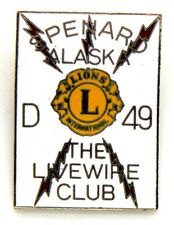 Spilla Lions International Spenard Alaska D 49 The Livewire Club cm 2,6 x 3,6