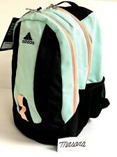 Adults Adidas Journal Large Capacity BackPack Clear Mint/Black/Coral