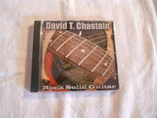 "David T. Chastain ""Rock solid Guitar"" 2001 cd Leviathan Records USA"